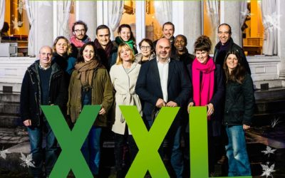 Avec Ecolo Ixelles, Christos Doulkeridis, Audrey Lhoest et Zakia Khattabi vous souhaitent une belle année 2018!